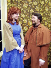 Erin O'Shea and J. Adam Lounsberry in Little Women