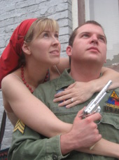 Melissa Anderson Clark and David Turley in Assassins