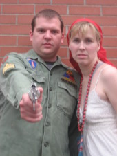 David Turley and Melissa Anderson Clark in Assassins