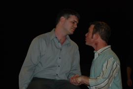 Andy Koski and J.C. Luxton in The Merchant of Venice