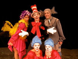 ensemble members from Seussical Jr.