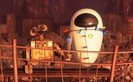 WALL-E and EVE in WALL-E