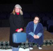 Stacey Herrick and Alex Klimkewicz in Almost Maine