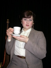 Emily Kurash in Lettice and Lovage