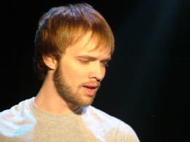 Joshua Sohn in the Clinton Area Showboat Theatre's The Last Five Years
