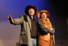 Wayne and Sheri Hess in Annie Get Your Gun