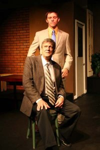 Pat Flaherty and Daniel DP Sheridan in Glengarry Glen Ross