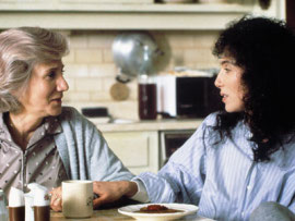 Olympia Dukakis and Cher in Moonstruck