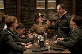 Diane Kruger and Inglourious Basterds ensemble members