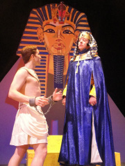Don Denton and Tom Walljasper in Joseph and the Amazing Technicolor Dreamcoat