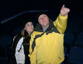 Jessica Nicol White and Chris White in 2009's Almost, Maine