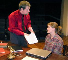Chris White and Jessica Nicol White in 2007's Arcadia