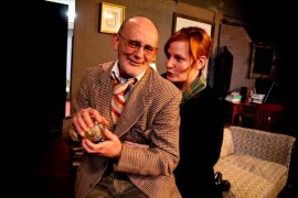 Ray Gabica and Jessica Flood in Who's Afraid of Virginia Woolf?