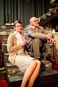 Jenny Winn and Ray Gabica in Who's Afraid of Virginia Woolf?