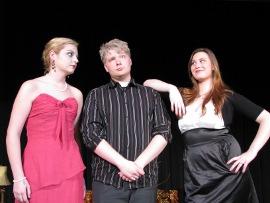 Megan Baumunk, Patrick Joslyn, and Riley Hantz and Jake's Women