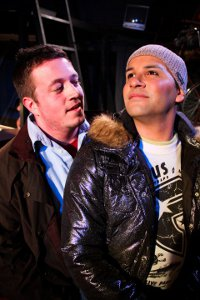 Rodney Swain and Joseph Baez in Rent