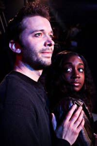 Steve Lasiter and Daryn Harrell in Rent