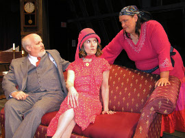 Bill Bates, Diane Greenwood, and Lisa Kahn in Any Number Can Die