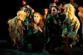 scene from Stefano Brancato's 2009 production of Icarus