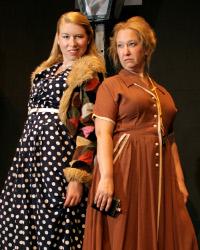 Hannah Kurth and Rachelle Walljasper in Annie