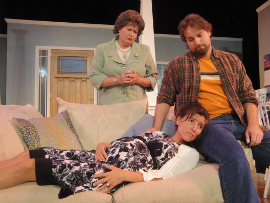 Autumn O'Ryan, Kimberly Kurtenbach, and Adam Michael Lewis in Squabbles