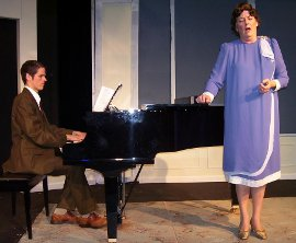 Bryan Tank and Susan Perrin-Sallak in Souvenir: A Fantasia on the Life of Florence Foster Jenkins