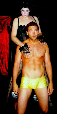 Tristan Tapscott and Justin Droegemueller in The Rocky Horror Show