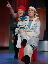 Laura Miller and Bret Churchill in Jack Frost Saves Christmas