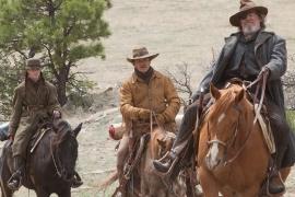 Hailee Steinfeld, Matt Damon, and Jeff Bridges in True Grit