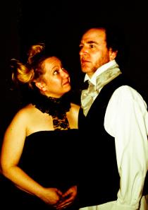 Rachelle and Tom Walljasper in Sweeney Todd