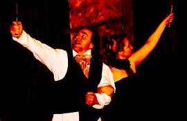 Tom and Rachelle Walljasper in Sweeney Todd