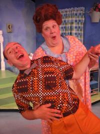 Tom Walljasper and John Payonk in Hairspray