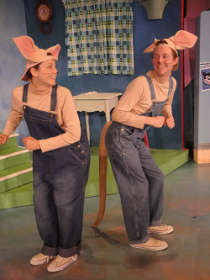 Jennifer Weingarten and Daniel Rairdin-Hale in If You Give a Mouse a Cookie