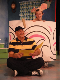 Janos Horvath and Daniel Rairdin-Hale in If You Give a Mouse a Cookie