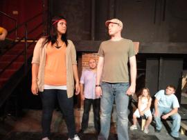 Sara Speight and Tristan Tapscott in Jesus Christ Superstar