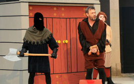 Pat Flaherty in The Comedy of Errors