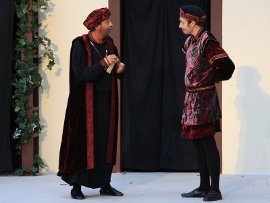 Pat Flaherty and Neil Friberg in Romeo & Juliet