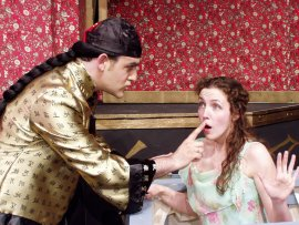 Christopher and Erika Thomas in 2007's Thoroughly Modern Millie