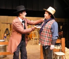Tom Naab and Bryan Woods in Make Me a Cowboy