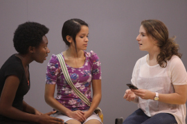 Jalayna Walton, Mercedes Padro, and Christina Arden in Real Girls Can't Win!