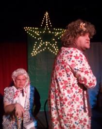 David Turley and James Fairchild in A Tuna Christmas