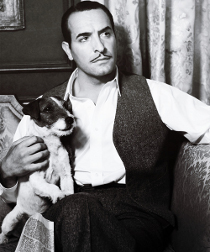 Uggie and Jean Dujardin in The Artist
