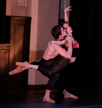 Jake Lyon and Emily Kate Long in the Love Stories piece Prelude to Eternity