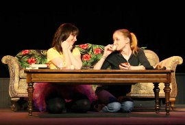 Jessica Denney and Stephanie Moeller in Mr. Marmalade