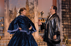 Rochelle and Jon Schrader in The King & I