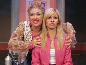 Sara King and Samantha Pauly in Legally Blonde: The Musical