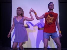 Jenny Winn and Bryan Tank in Xanadu
