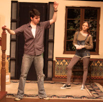 Alex Richardson and Stephanie Moeller in Moving