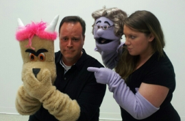 Mike Kelly and Tracy Pelzer-Timm in Avenue Q