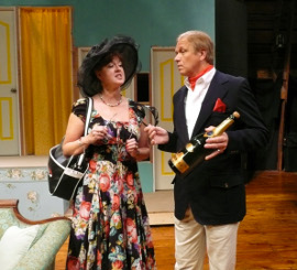 Valeree and Kevin Pieper in Noises Off